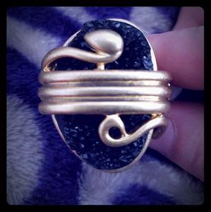 Lia Sophia Snake Ring